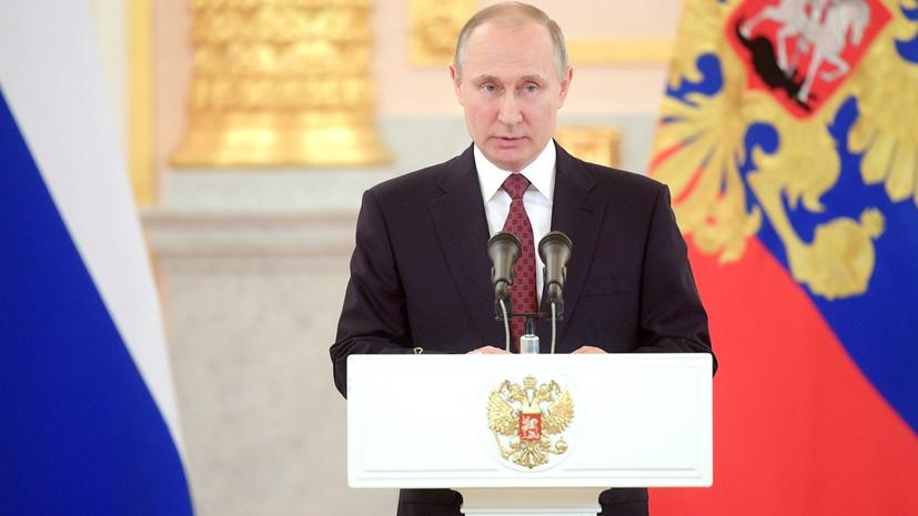 Путин поздравил Алиева с победой на президентских выборах в Азербайджане