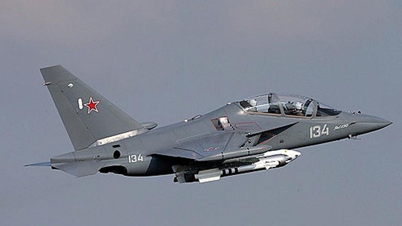 Самолёт Як-130 потерпел аварию в Воронежской области