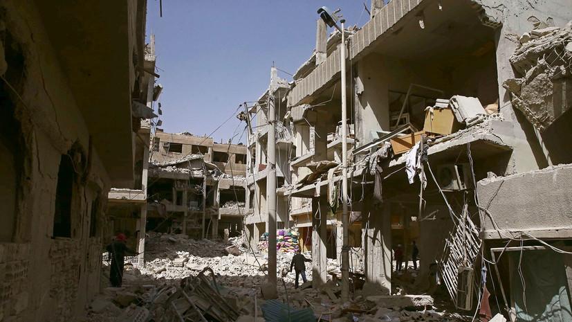 Российская военная полиция приступила к работе в сирийской Думе