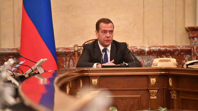 Медведев поздравил работников ракетно-космической отрасли с Днём космонавтики