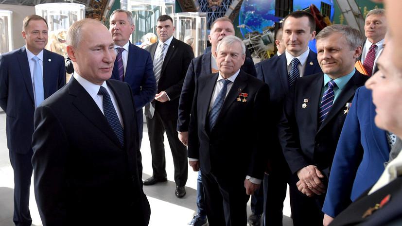 Путин рассказал о планах России активно работать над реализацией лунной программы
