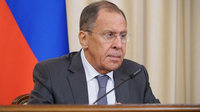 Лавров заявил, что Россия содействует расследованию крушения MH 17
