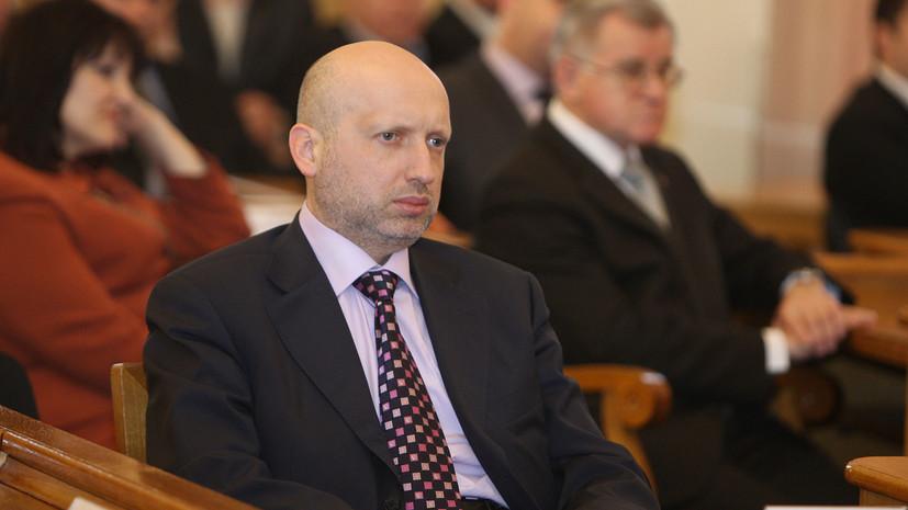 Турчинов анонсировал масштабные испытания украинских крылатых ракет
