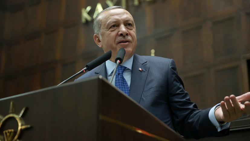 Эрдоган отметил улучшение ситуации вокруг сирийского кризиса