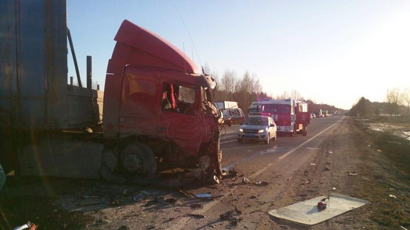 Следователи начали проверку по факту ДТП с семью погибшими в Вологодской области