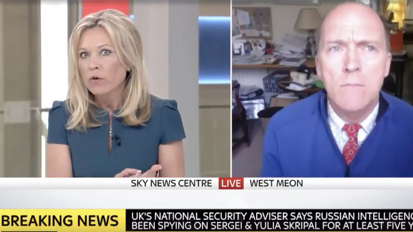 Sky News прервал эфир с указавшим на бессмысленность химатаки в Сирии экспертом