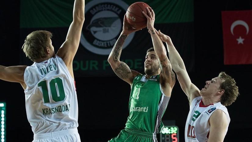 С защитой, но без атаки: «Локомотив-Кубань» проиграл в финале Еврокубка команде экс-тренера сборной России по баскетболу