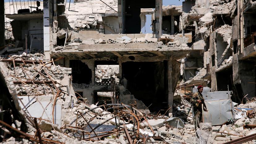 Запрещённое оружие: в Восточной Гуте найдена лаборатория боевиков по производству отравляющих веществ
