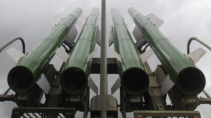 Минобороны: силы ПВО Сирии сбили все выпущенные по аэродрому Думейр 12 ракет