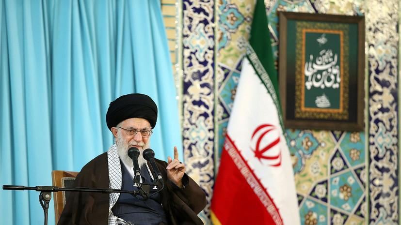 Лидер Ирана назвал Трампа, Мэй и Макрона преступниками из-за удара по Сирии