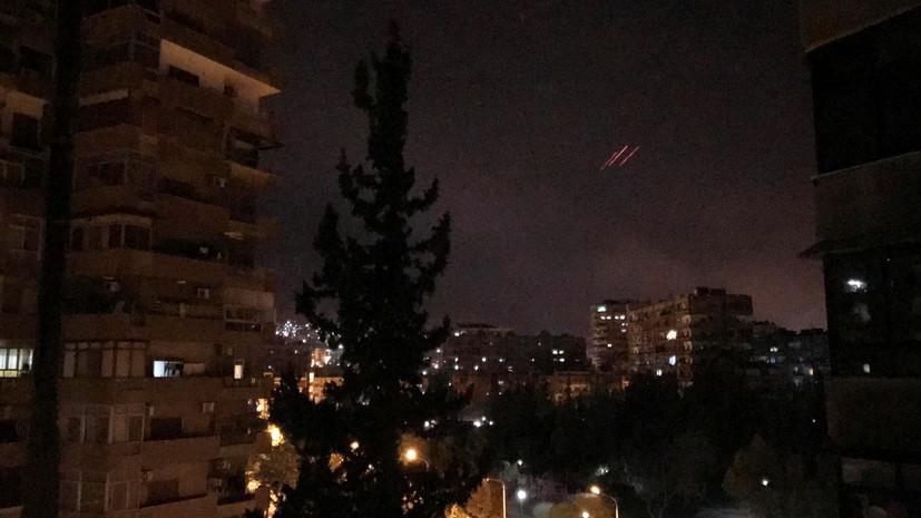 Генштаб России: системы ПВО Сирии перехватили 71 ракету стран Запада