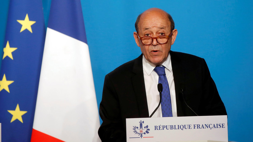 Глава МИД Франции заявил о достижении целей операции в Сирии