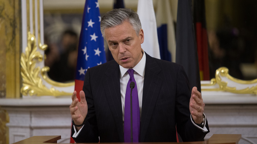 Хантсман: США перед нанесением удара по Сирии связались с Россией