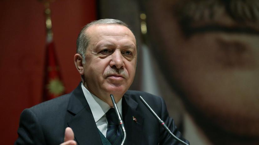 Эрдоган в разговоре с Мэй призвал не допустить дальнейшей конфронтации после удара по Сирии