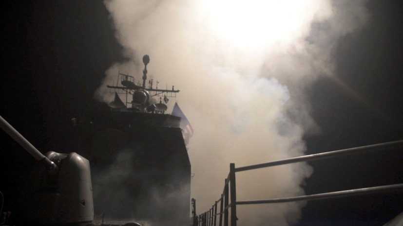 Пентагон: все намеченные цели в Сирии были поражены в ходе операции США и их союзников