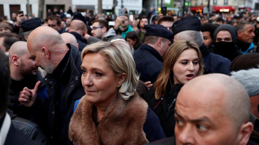 Ле Пен прокомментировала удар США, Британии и Франции по Сирии