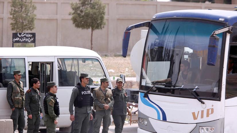 МинобороныРФ отчиталось ополном выводе боевиков изсирийской Думы