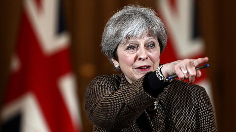Опрос: действия Мэй в ситуации с Сирией поддерживают 28% британцев