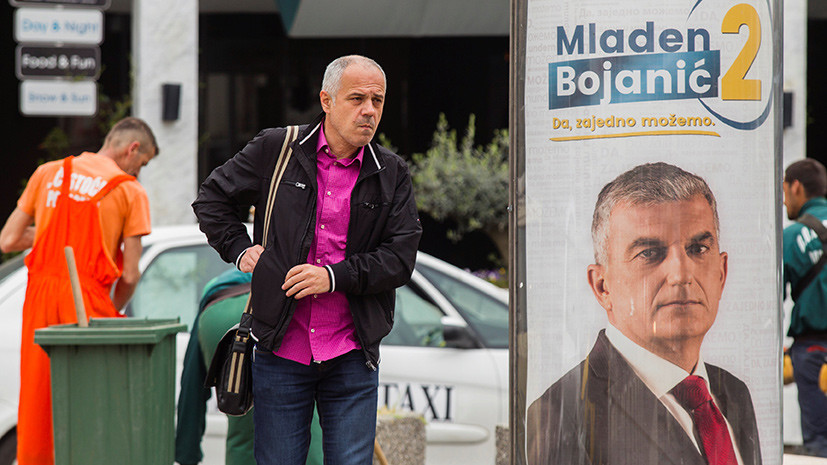 Избрание политического курса: сможет ли сторонник сближения с Россией стать президентом Черногории