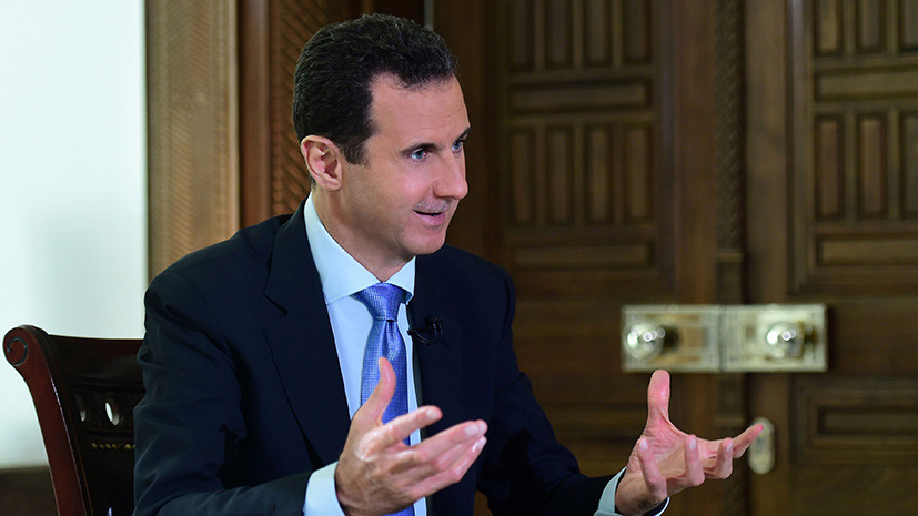 Асад похвалил советское оружие, отразившее ракетный удар США