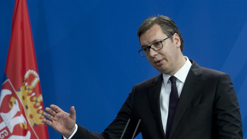 Вучич заявил, что Сербия придерживается нейтралитета в связи с атакой США на Сирию