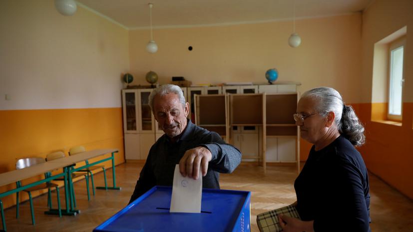 В Черногории завершилось голосование на президентских выборах