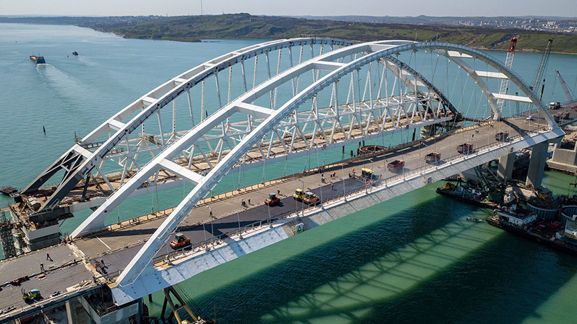 На Крымском мосту начались пусконаладочные работы по подготовке системы управления движением