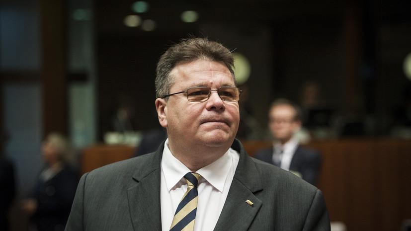 Глава МИД Литвы не исключил введения новых санкций против России