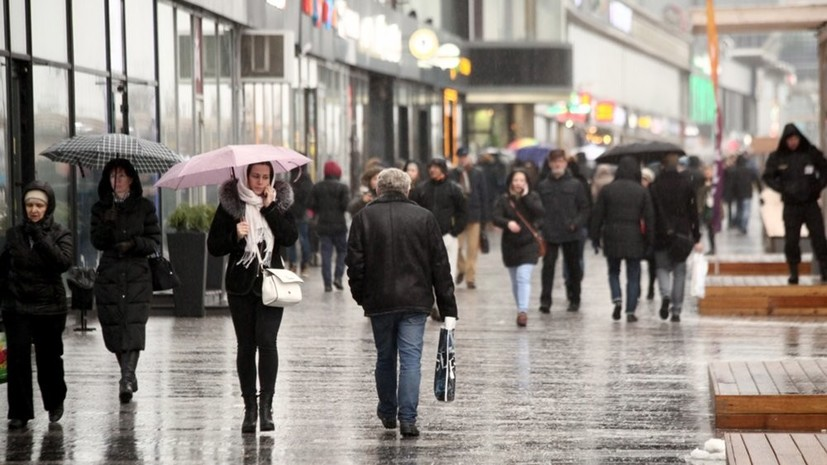 Синоптики прогнозируют дождливую неделю в Москве