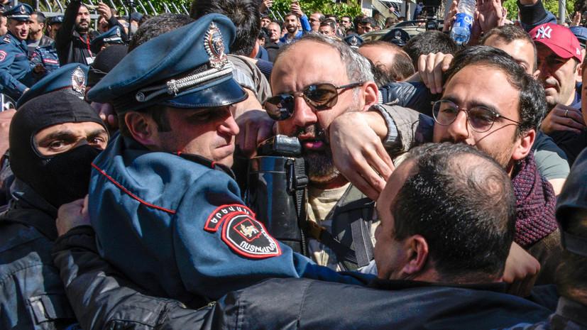 Генпрокуратура Армении возбудила уголовное дело из-за беспорядков в Ереване