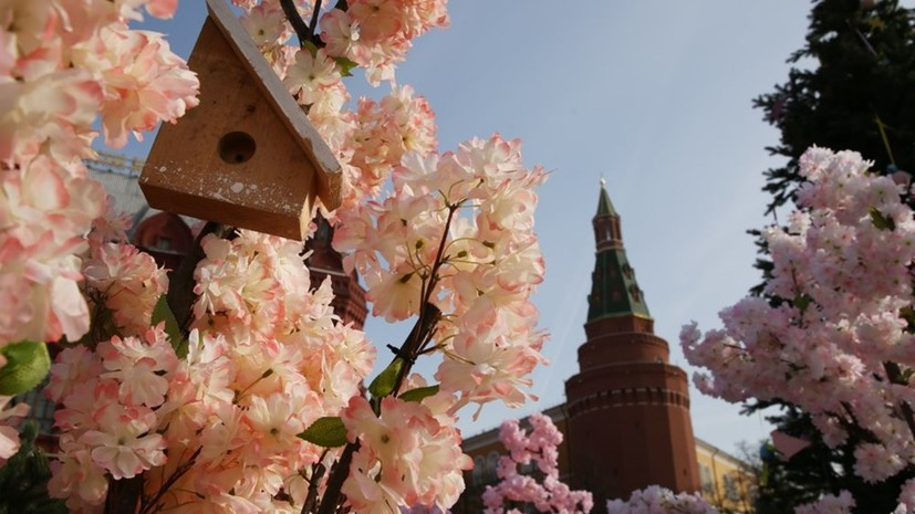 В Москве побит 70-летний рекорд по теплу