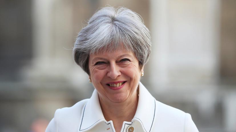 Мэй заявила, что Британия приняла участие в операции в Сирии не по приказу США
