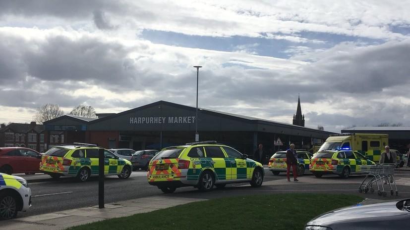 После инцидента с наездом на людей в Манчестере задержан 80-летний мужчина