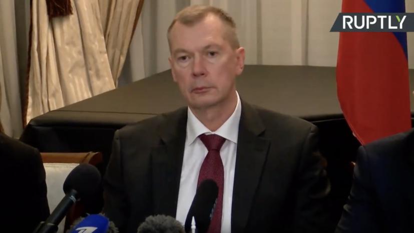 Постпред России при ОЗХО: представитель США преподнёс удар по Сирии как акт возмездия