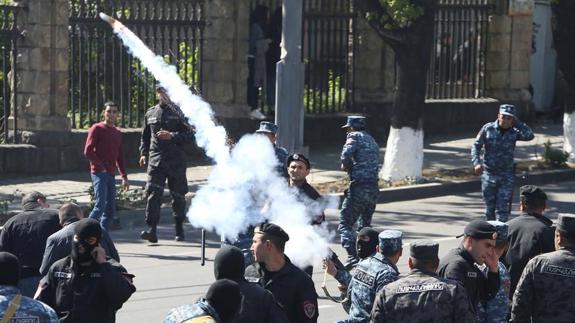 Ростуризм призвал граждан России к осторожности в Ереване