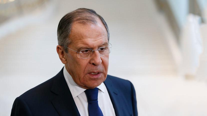 Лавров: США угрожают россиянам санкциями за «неправильный выбор»