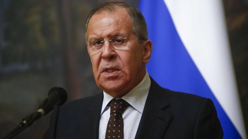 Лавров заявил, что Россия ждёт от ОЗХО ответа относительно вещества BZ