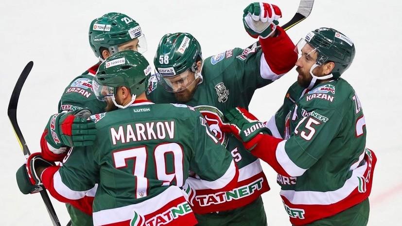 Казань не взяли: ЦСКА дважды проиграл «Ак Барсу» на старте финальной серии плей-офф КХЛ