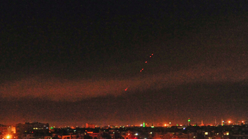 Атака на Хомс: СМИ сообщили о новом ракетном обстреле военной базы в Сирии