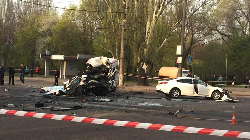 Восемь человек погибли и 17 пострадали в ДТП в Кривом Роге