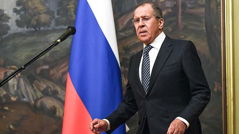 «Сигнал плохим парням»: Лавров рассказал о последствиях ударов США и союзников по Сирии