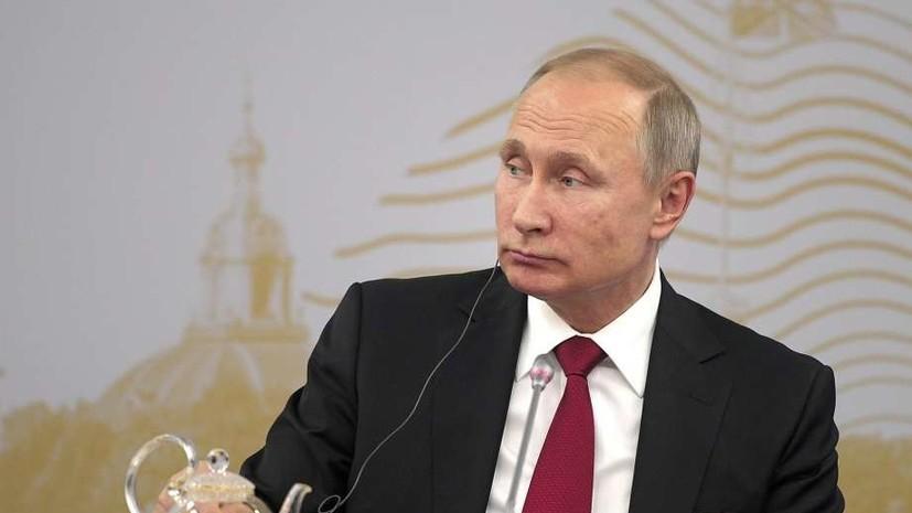 Путин, Макрон и Абэ примут участие в пленарном заседании ПМЭФ