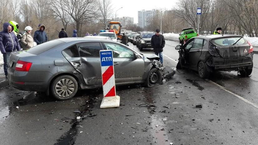 В Москве с начала года в ДТП погибли 88 человек