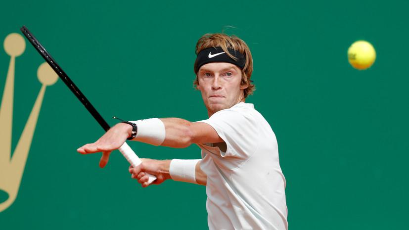 Рублёв уступил австрийцу Тиму на теннисном турнире ATP в Монте-Карло
