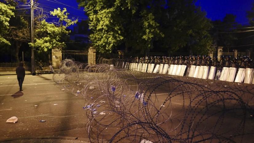 Полиция отпустила всех задержанных в ходе акции протеста в Ереване