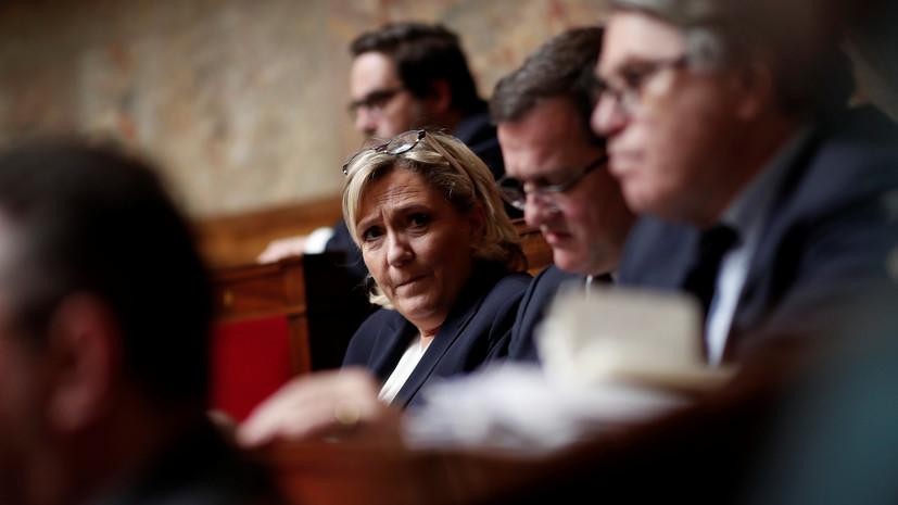 Ле Пен усомнилась в участии Франции в ударе по Сирии
