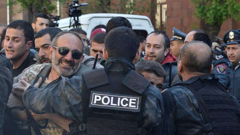 В Ереване задержаны более 80 демонстрантов