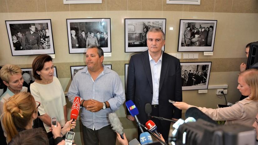 Сын Че Гевары заявил, что не боится санкций из-за посещения Крыма