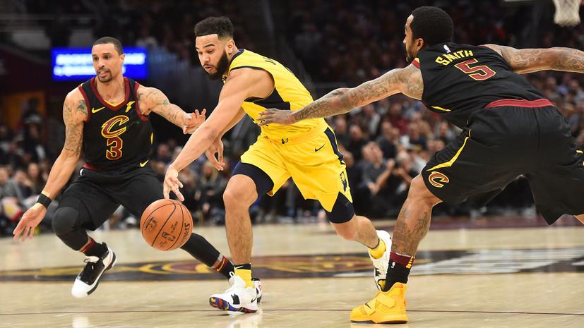 «Кливленд» сравнял счёт в серии с «Индианой» в НБА, «Хьюстон» удвоил преимущество в противостоянии с «Миннесотой»