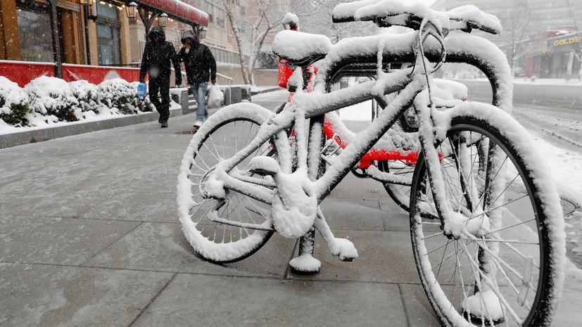 Синоптики рассказали о снеге в Московском регионе в выходные